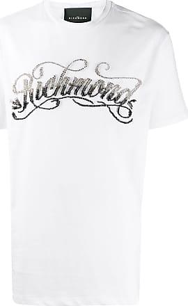 John Richmond Camiseta Mackintosh com aplicação - Branco