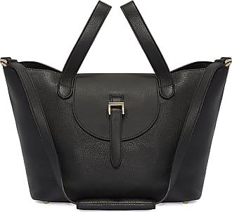 Meli Melo Meli Melo Thela Medium Black Leather Tote Bag for Women