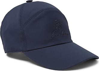 Loro Piana Storm System Shell Baseball Cap - Midnight blue