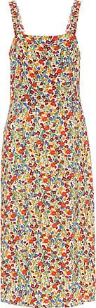 Velvet Raya floral midi dress