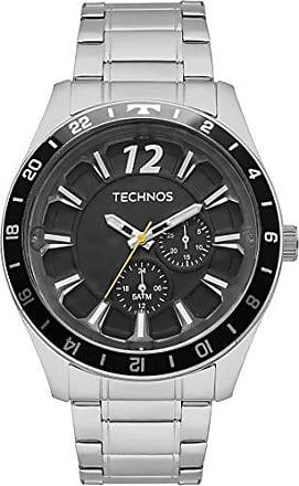 Technos Relógio Masculino Technos Multifunção 6P22AE/1P Prata