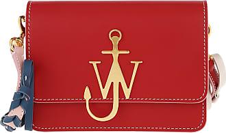 J.W.Anderson Anchor Braided Logo Bag Scarlet Umhängetasche rot