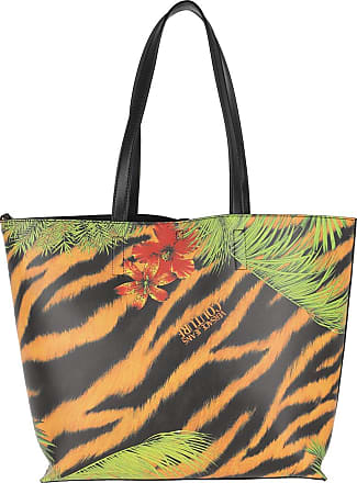 Versace Jeans Couture Tote - Flower Print Logo Tote Bag Multicolour - colorful - Tote for ladies