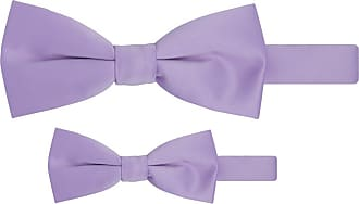 Jacob Alexander Matching Father Son Mens Boys Bow Tie Set - Lavender