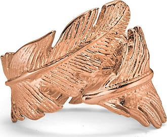 Dower & Hall Feather Wrap Ring