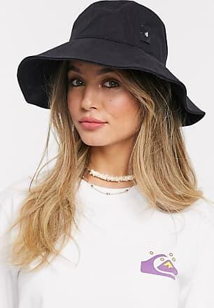 Quiksilver Cappello da pescatore in jersey nero