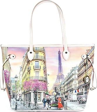 Y Not YNOT YES-319S0 Medium Instant Shopper Bag Paris Spring