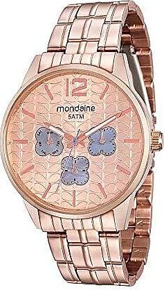 Mondaine Relógio Multifunção em Aço Rosé