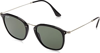 Ray-Ban Unisexs Rb 2448N Sunglasses, Black, 51