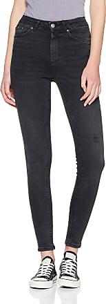 Pieces Womens Pchighfive Delly B226 Skn JNS Blk/noos Skinny Jeans, Black (Black Black), 40W / 30L