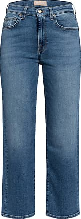 7 For All Mankind Jeans-Culotte CROPPED ALEXA - LUXE VINTAGE CAPITOLA MID BLUE