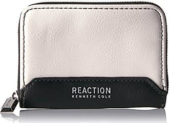 Kenneth Cole Reaction Kenneth Cole Reaction Womens Jasmine Wallet, White Sands/Black, One Size