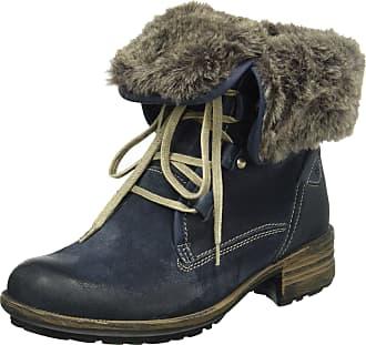 Josef Seibel Sandra 04, Womens Warm-Lined Short-Shaft Boots and Bootees, Blue - Blau (Denim/KOMBI 596), 6.5 UK (40 EU)
