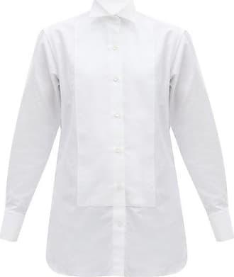 Victoria Beckham Chemise en faille de coton à plastron