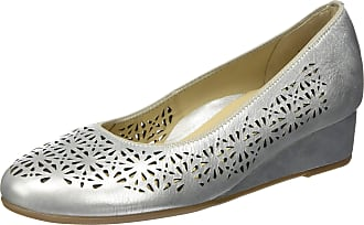 Ara Womens Livorno Closed Toe Heels, Gold White Gold 07, 4 UK