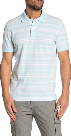 Brooks Brothers Colorblock Stripe Oxford Pique Short Sleeve Polo
