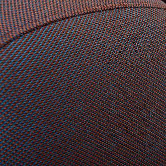 HAY Mags Sofa-Modul Lounge Links 132,5x95,5cm - grau/Stoff Remix 133/Füße Kiefernholz schwarz gebeizt/mit Filzgleitern