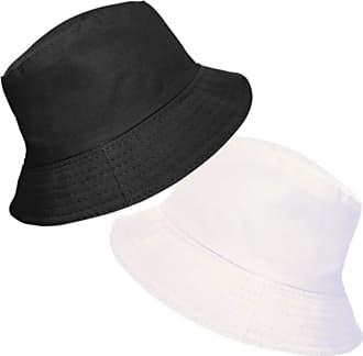 TOSKATOK UPF 50+ Ladies Womens Reversible Cotton Bucket Sun Hat - 2 Hats in 1-RED/Cerise