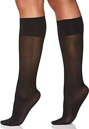 906d042ab802d Berkshire Womens Comfy Cuff Herringbone Opaque Trouser Knee High Socks,  black, Plus (9
