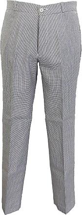 Relco Mens Classic Retro Mod Sta Press Trousers (42, Dogtooth)