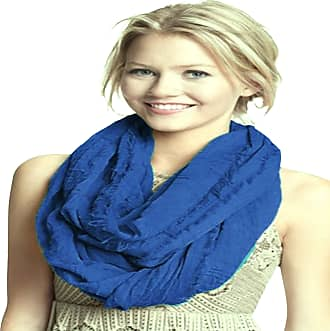 CJ Apparel Royal Blue Mobius Infinity Scarf Snood Cowl Tube Shawl Seconds *NEW*(Size: One Size)