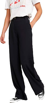 Pepe Jeans London Lula Trousers Navy Blue Women - Blue - UK 10