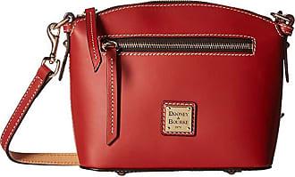 Dooney & Bourke Beacon Domed Crossbody (Red/Red Trim) Cross Body Handbags
