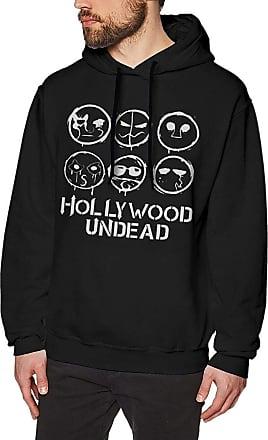 Not Applicable Clothing Mens Novelty Hoodies Activewear Top Hoodies Mens Hoody Hollywood Undead Mens Long Sleeve Sweatshirts Mans Hoodies Black