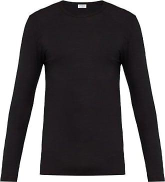 Zimmerli 700 Pureness Pyjama Top - Mens - Black