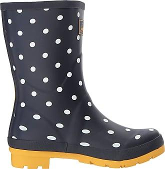 Joules Womens Molly Welly Wellington Boots, Blue (French Navy Spot Fnavspt), 7 UK (40/41 EU)