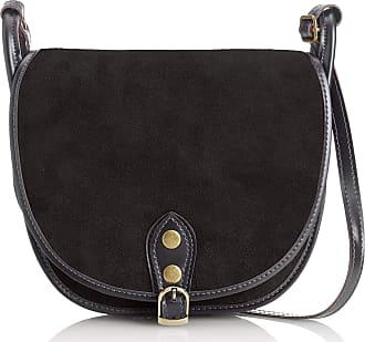 Chicca Borse Shoulder bag shoulder bag women suede 26 x 23 x 8 cm - mod. Tamara