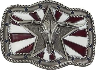 Belt Buckle Western Belt Buckle Rodeo Style Unisex Silver Nocona Western Belt Buckle Silver Rodeo Star