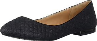 Jessica Simpson Womens Ginly Ballet Flat, Black, 5.5