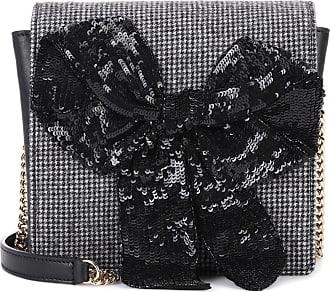 Rochas Exclusive to mytheresa.com - embellished leather shoulder bag