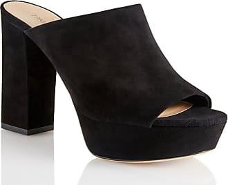 Tamara Mellon Lita Black Suede Sandals, Size - 39.5