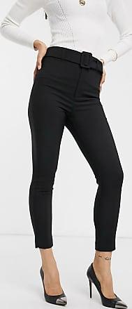 Women S Black Stradivarius Pants Stylight