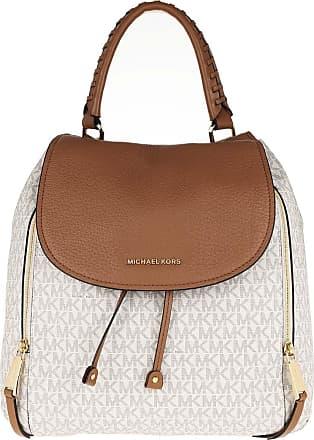Michael Kors Viv Lg Backpack Vanilla/Acorn Rucksack beige