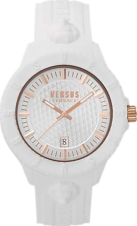 Versace Watch for Women On Sale, White, Rubber, 2017, One Size