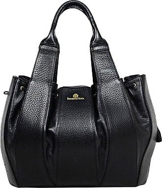 cef1a750fb6f 1stdibs Domenico Vacca Black Leather Julie Handbag Bag Sz Large