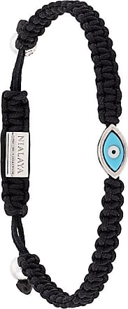 Nialaya Evil eye bracelet - Black