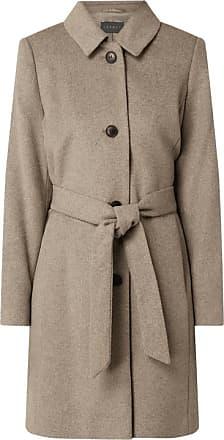 Trenchcoats Beige Esprit Frauen Bekleidung Trenchcoats BdeCxo