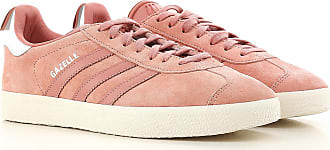 buy online 80697 58dd6 adidas Sneaker Donna On Sale in Outlet, Gazelle, Rosa Antico, Pelle  Scamosciata,