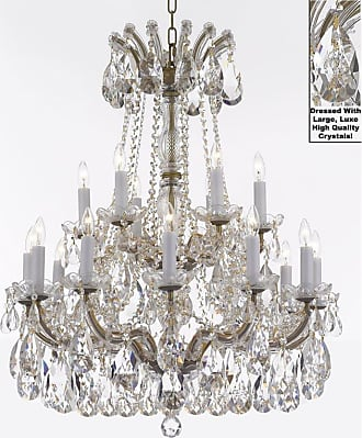 Gallery T22-2545 Maria Theresa 18 Light 28 Wide Crystal Chandelier