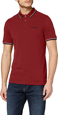 Ben Sherman Mens Signature Polo Shirt, Red (Red 550), XXX-Large (Size:3XL)