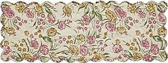 VHC Brands 19777 Madeline Quilted Runner 13x36