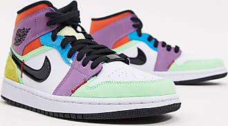 Nike Jordan Nike Air - Jordan 1 - Sneakers alte colorblock-Multicolore