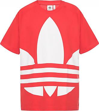 adidas Logo T-shirt Mens Red