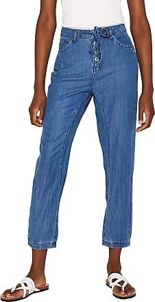 EDC by Esprit Womens 059cc1b007 Boyfriend Jeans, Blue (Blue Medium Wash 902), W30/L30 (Size: 30/30)