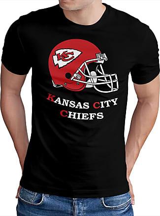 OM3 Kansas City Football - T-Shirt | Mens | American Football Shirt | 3XL, Black