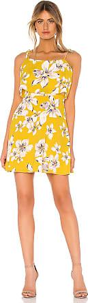 BB Dakota Island Time Dress in Yellow